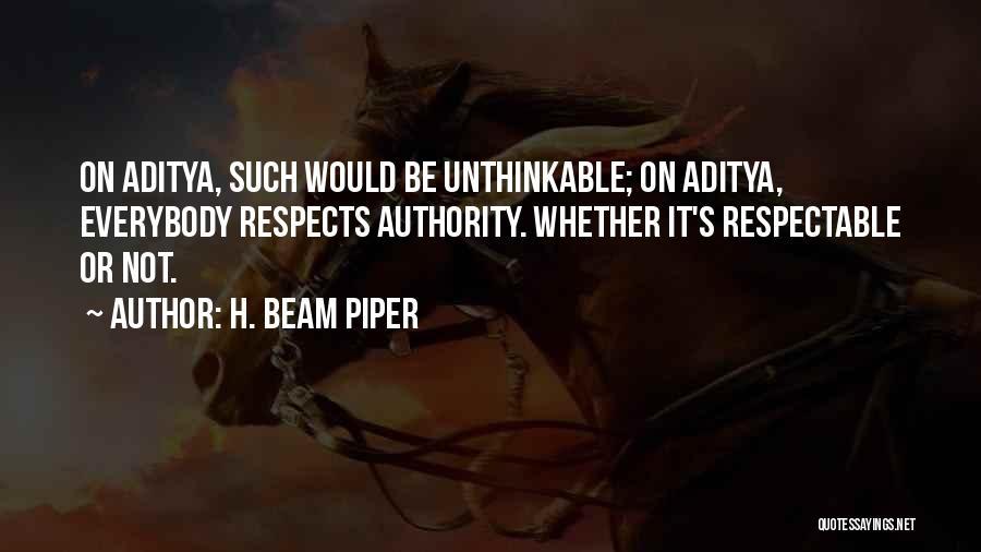 H. Beam Piper Quotes 1201137