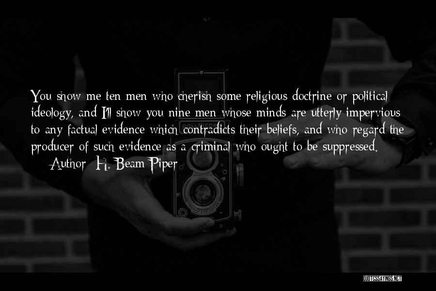H. Beam Piper Quotes 1294113