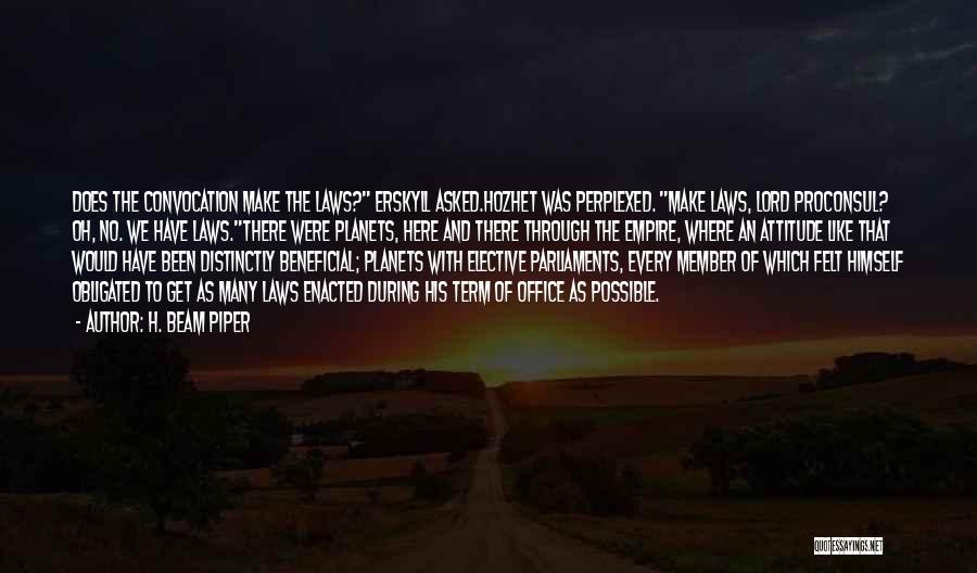 H. Beam Piper Quotes 522097