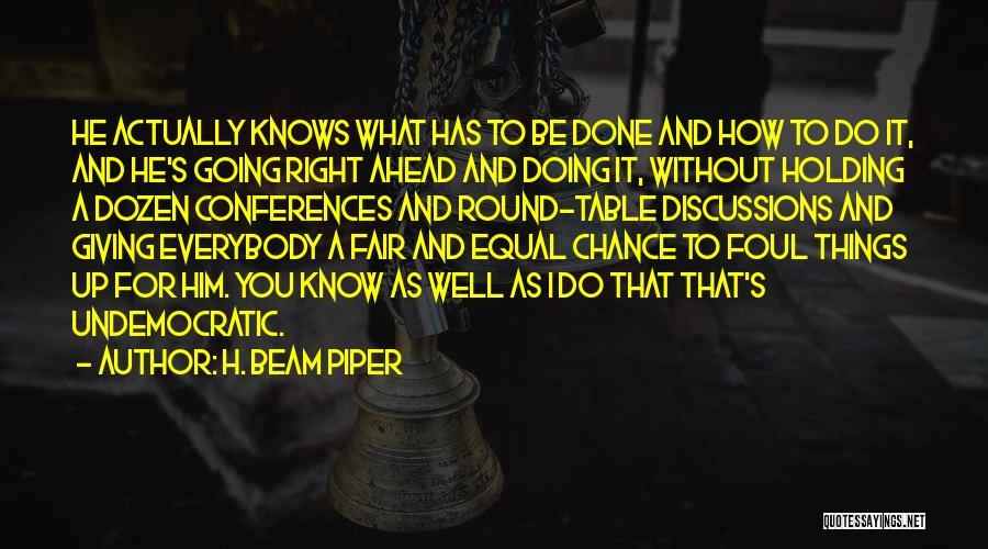 H. Beam Piper Quotes 819632