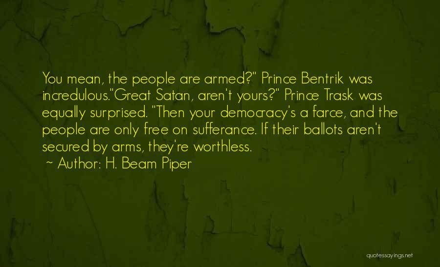 H. Beam Piper Quotes 846708