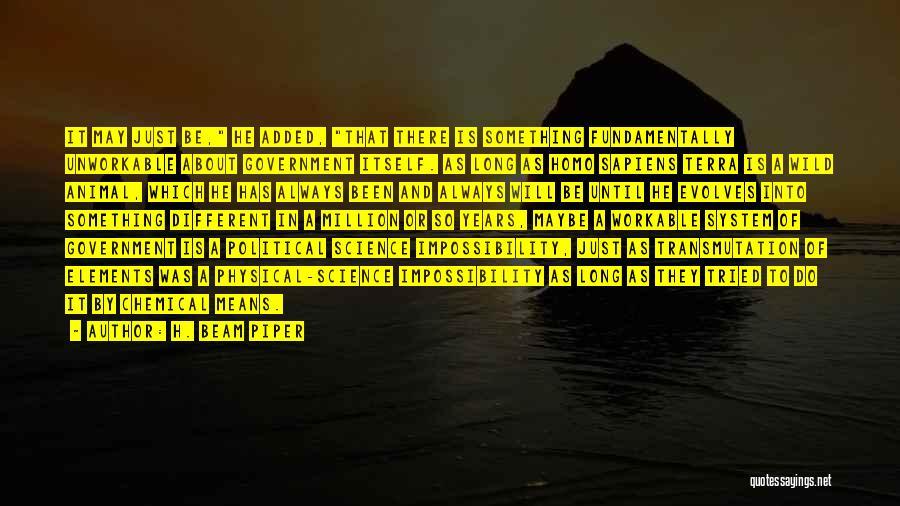 H. Beam Piper Quotes 907612
