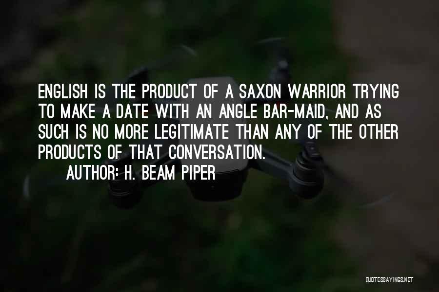 H. Beam Piper Quotes 948343