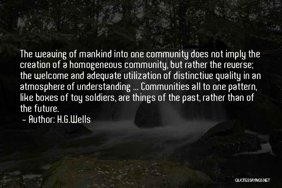 H.G.Wells Quotes 121773