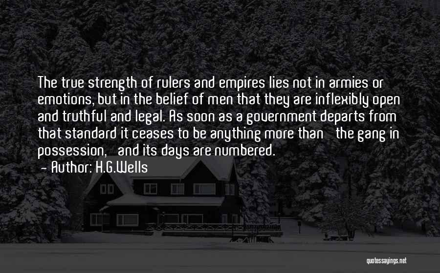 H.G.Wells Quotes 134043