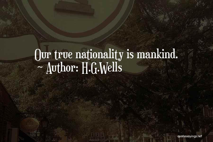 H.G.Wells Quotes 1399179