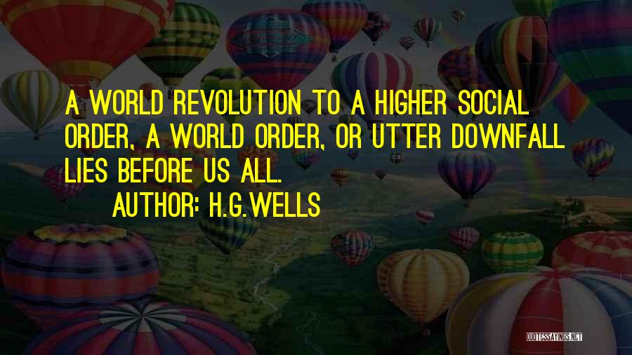 H.G.Wells Quotes 1923226
