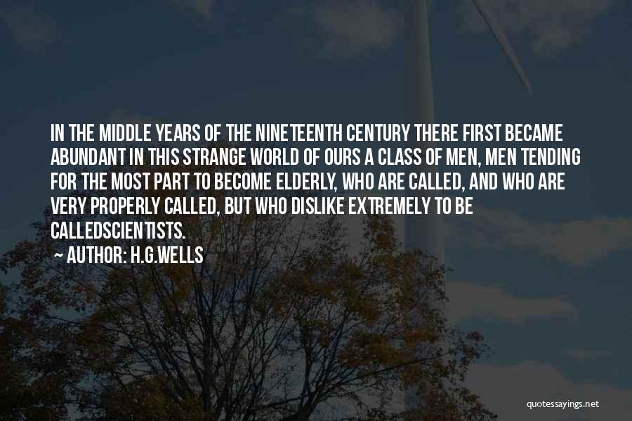 H.G.Wells Quotes 419727