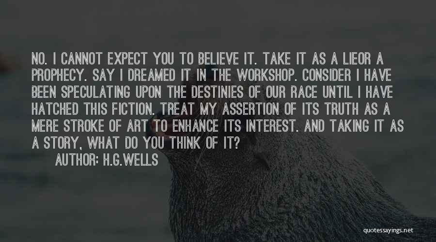 H.G.Wells Quotes 710445