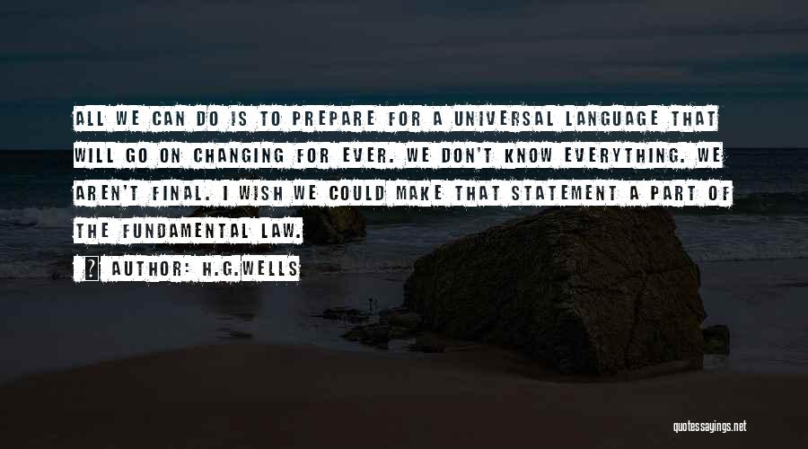H.G.Wells Quotes 899241
