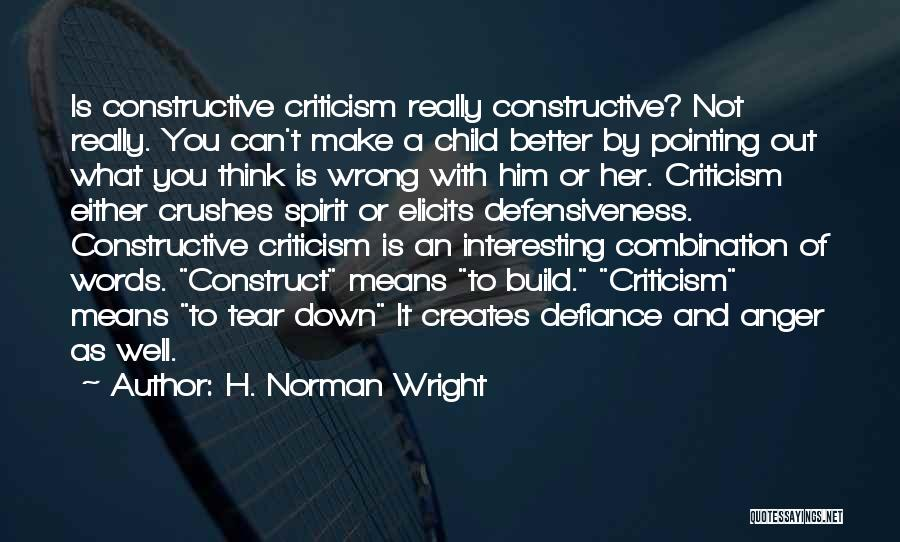 H. Norman Wright Quotes 228621
