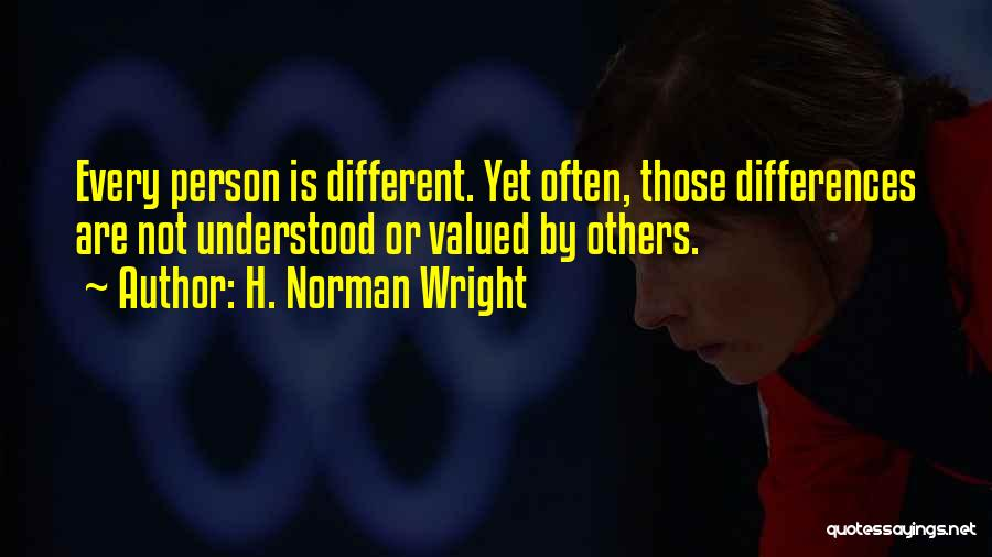 H. Norman Wright Quotes 746542