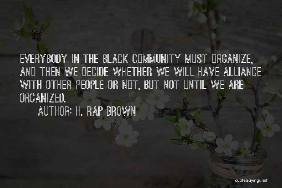 H. Rap Brown Quotes 1063872
