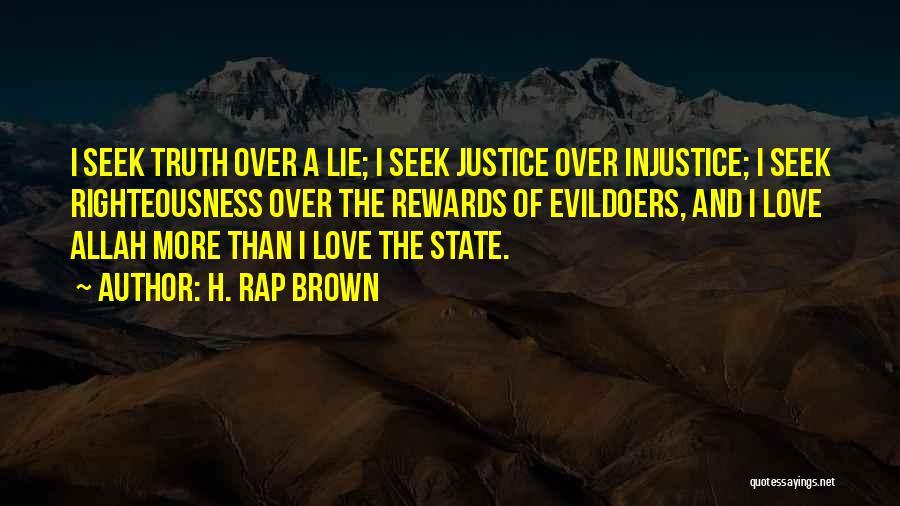 H. Rap Brown Quotes 1801941