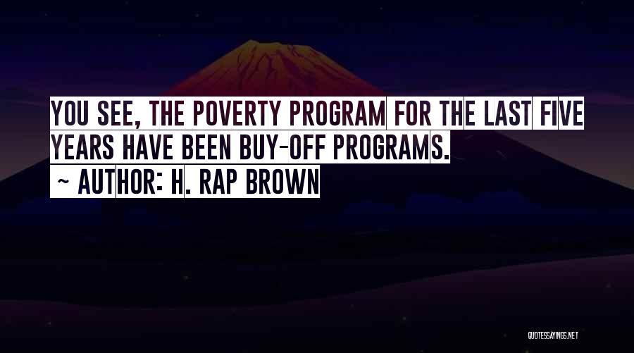 H. Rap Brown Quotes 506604