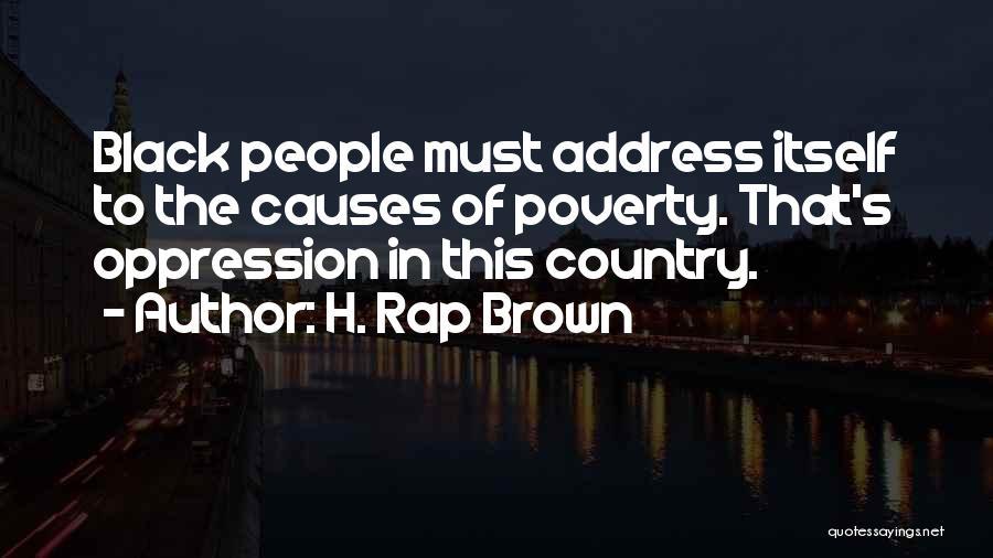 H. Rap Brown Quotes 593920