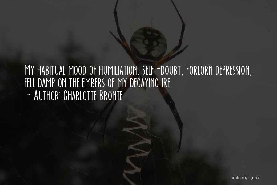 Habitual Quotes By Charlotte Bronte