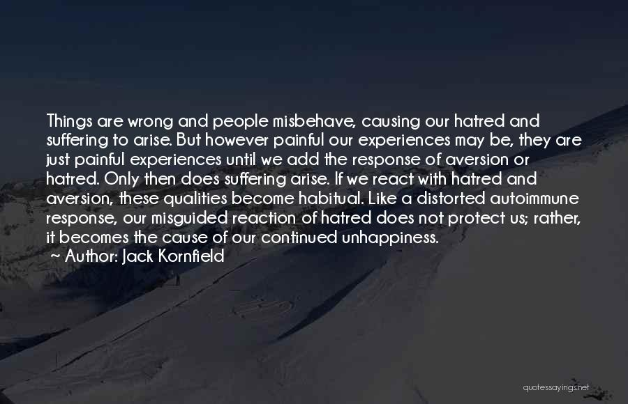 Habitual Quotes By Jack Kornfield