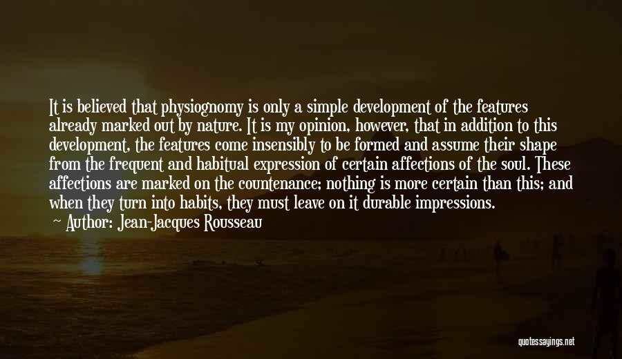 Habitual Quotes By Jean-Jacques Rousseau