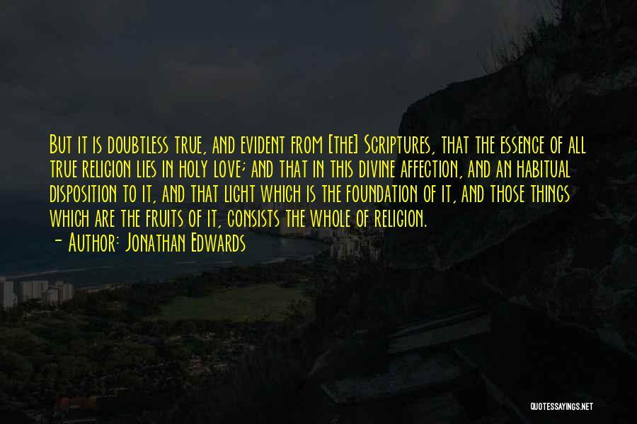 Habitual Quotes By Jonathan Edwards