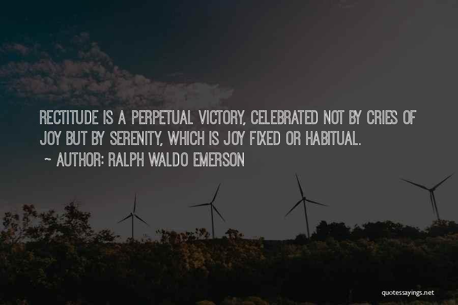 Habitual Quotes By Ralph Waldo Emerson