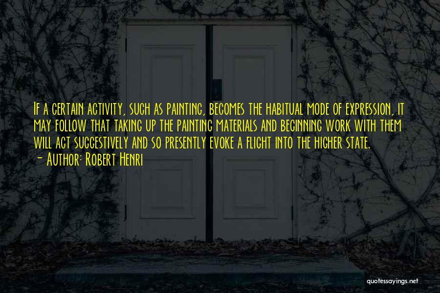 Habitual Quotes By Robert Henri