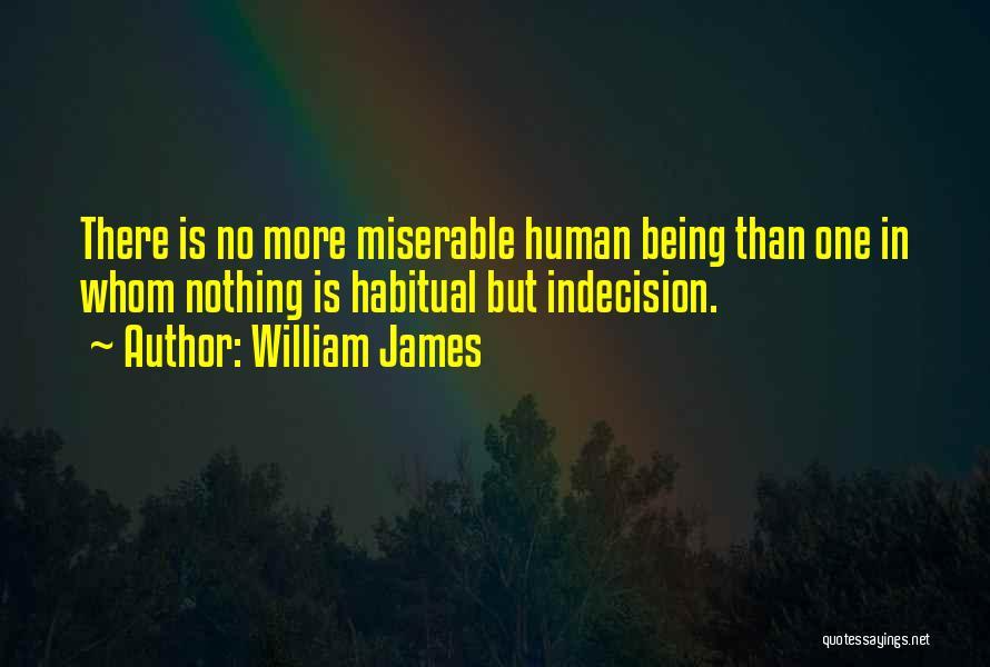 Habitual Quotes By William James