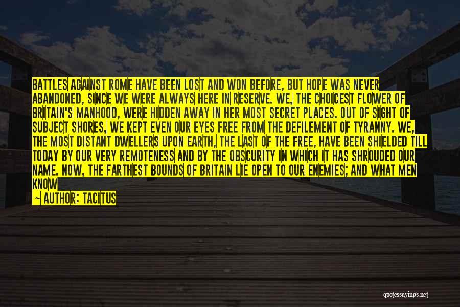 .hack Gu Quotes By Tacitus