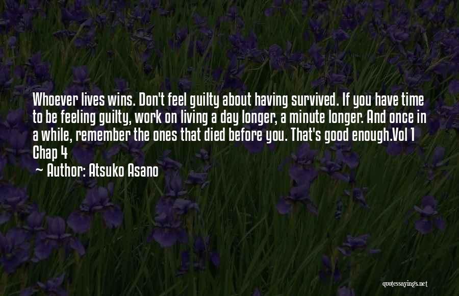 Had A Good Day At Work Quotes By Atsuko Asano