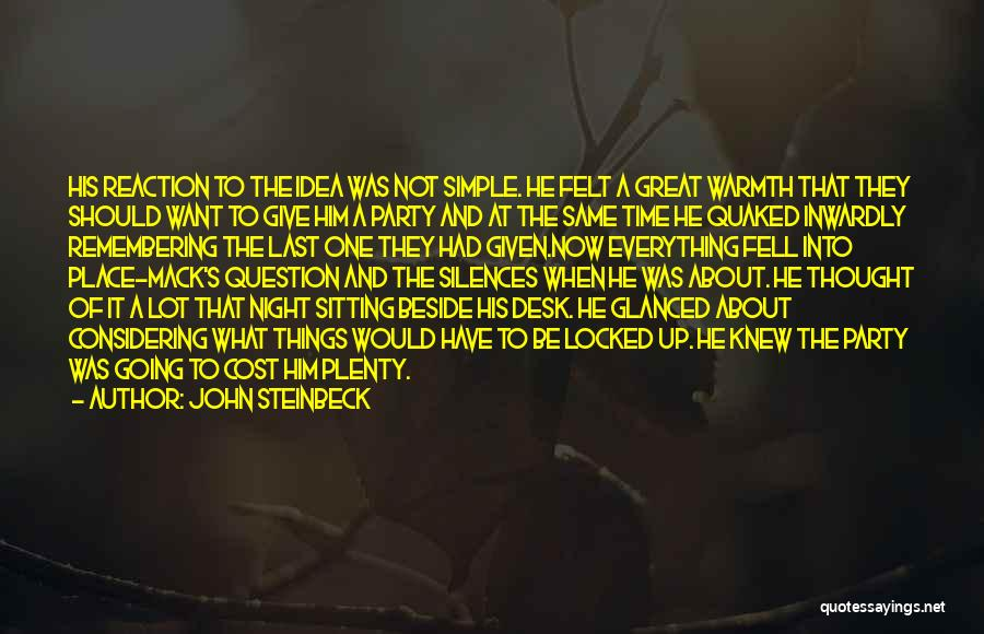 Had Great Time Quotes By John Steinbeck