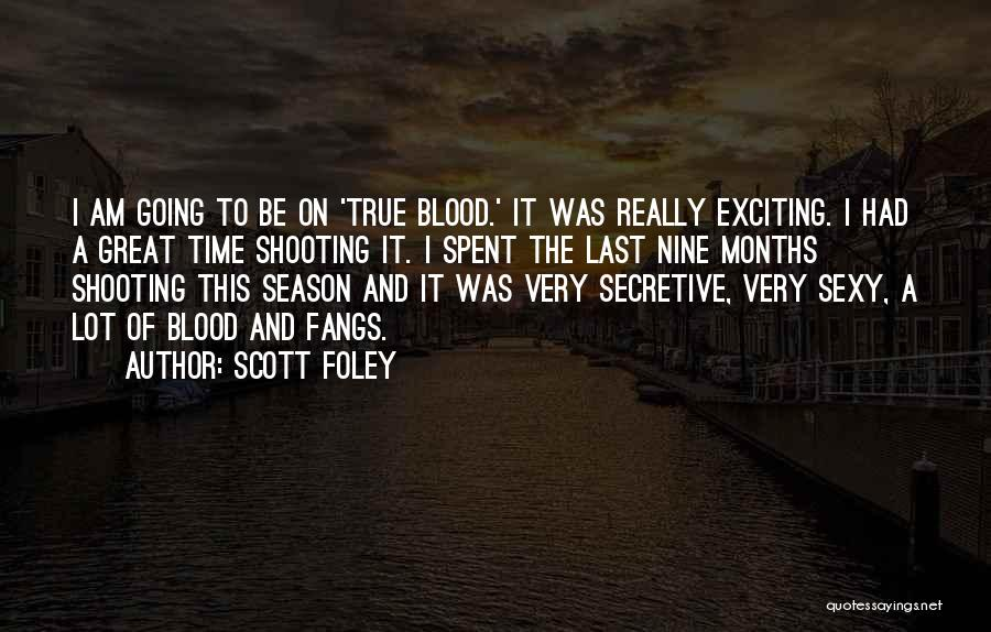 Had Great Time Quotes By Scott Foley