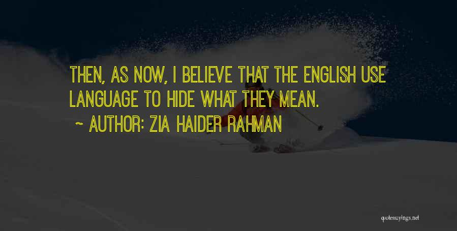 Haider Quotes By Zia Haider Rahman