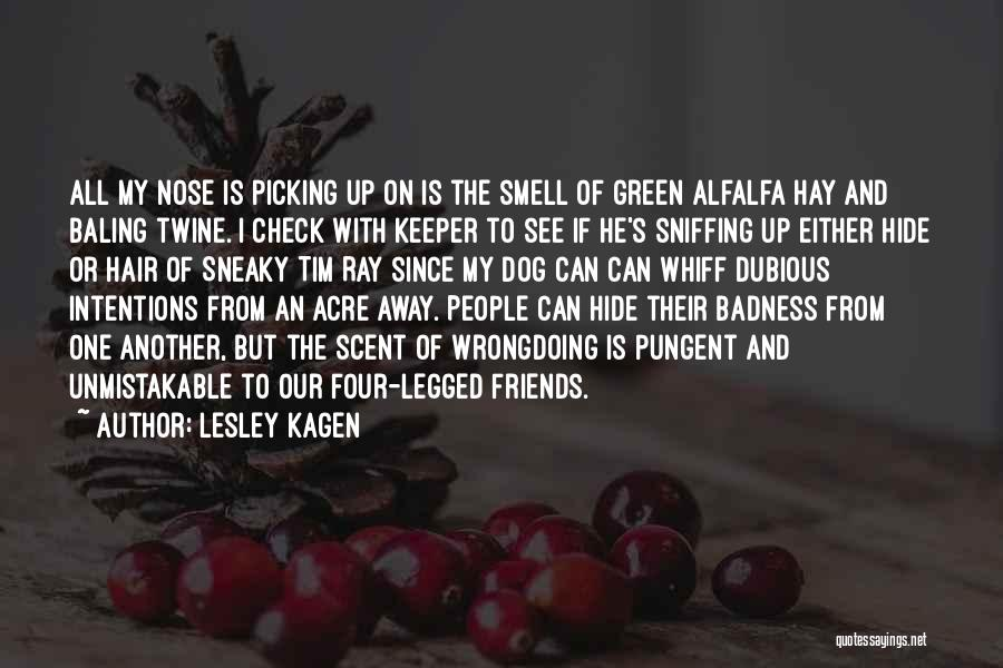 Hair Of The Dog Quotes By Lesley Kagen