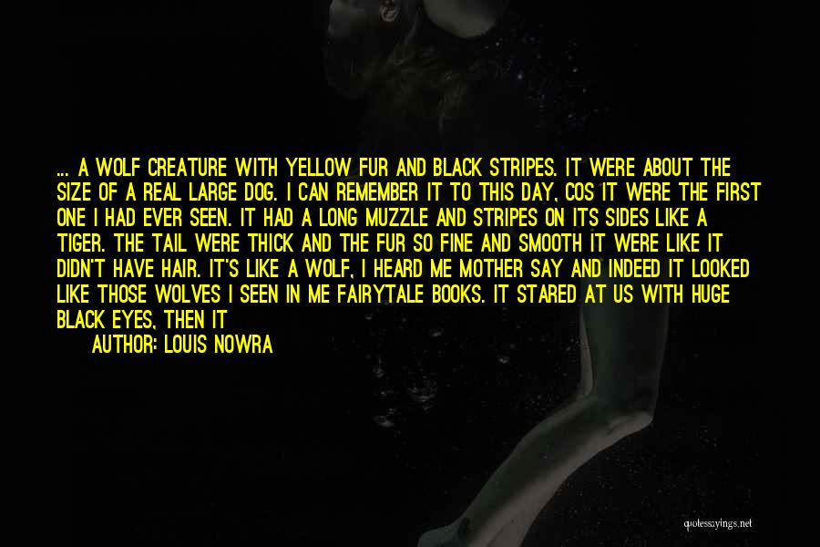 Hair Of The Dog Quotes By Louis Nowra