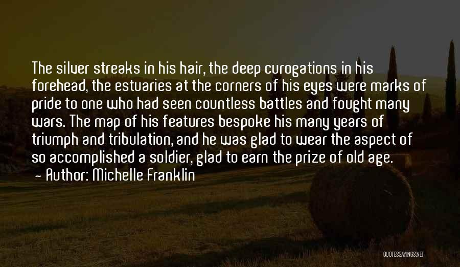 Hair Streaks Quotes By Michelle Franklin