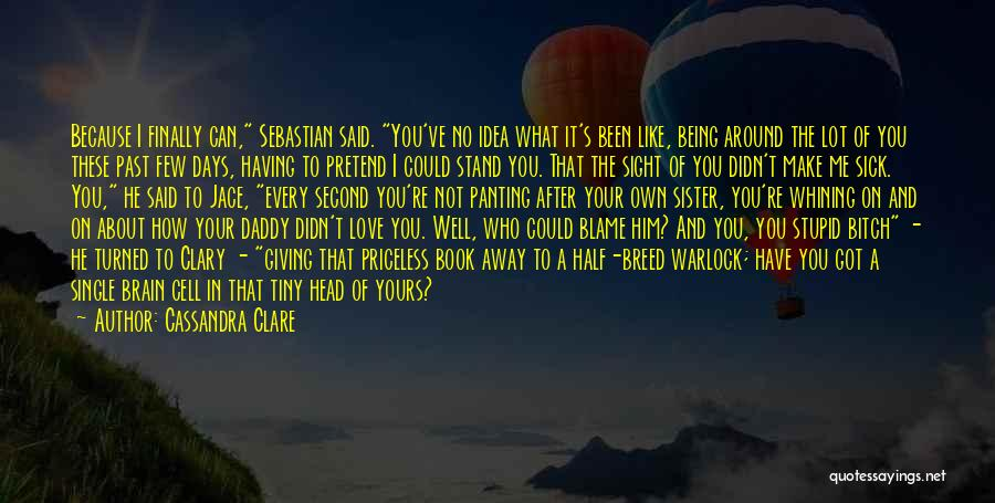 Half In Love Quotes By Cassandra Clare