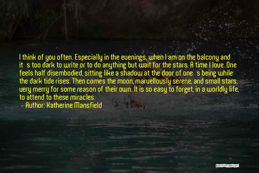 Half In Love Quotes By Katherine Mansfield