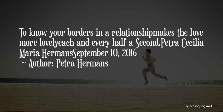 Half In Love Quotes By Petra Hermans