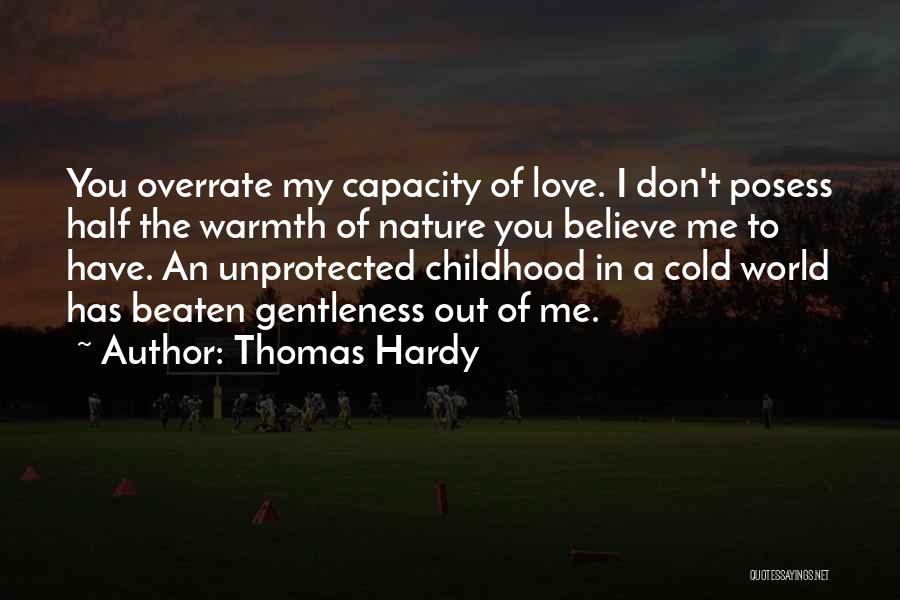 Half In Love Quotes By Thomas Hardy