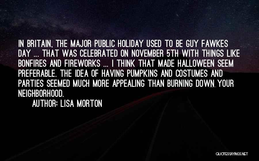 Halloween Pumpkins Quotes By Lisa Morton