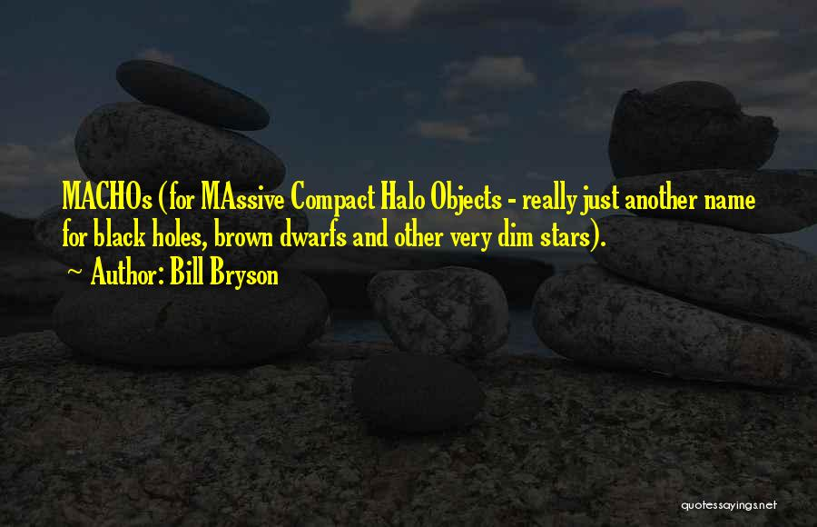 Halo 4 Quotes By Bill Bryson