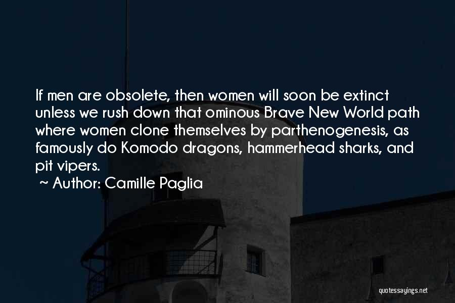 Hammerhead Quotes By Camille Paglia