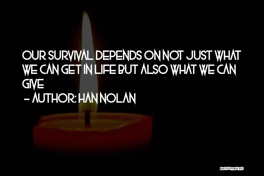 Han Nolan Quotes 320717