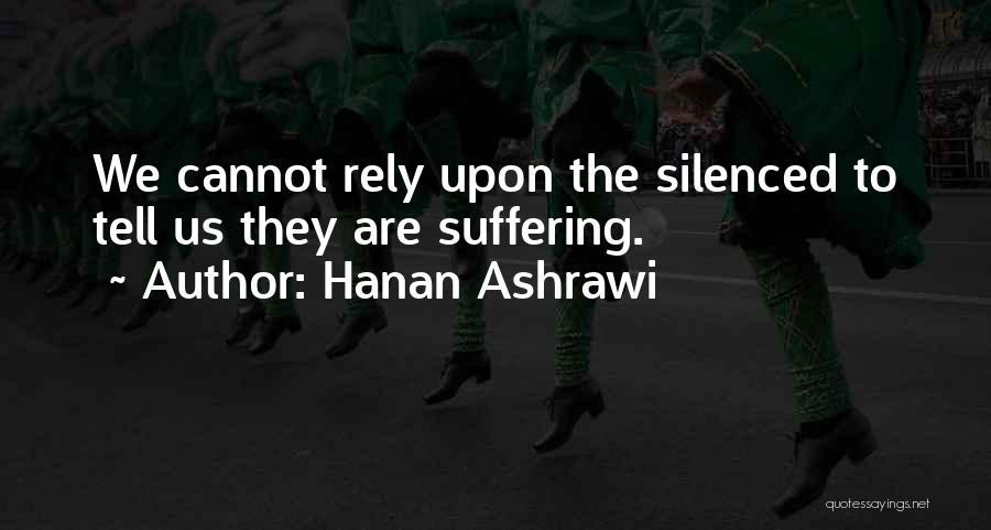 Hanan Ashrawi Quotes 114522