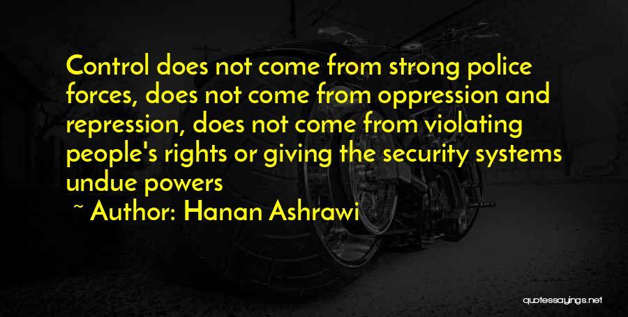 Hanan Ashrawi Quotes 1475903