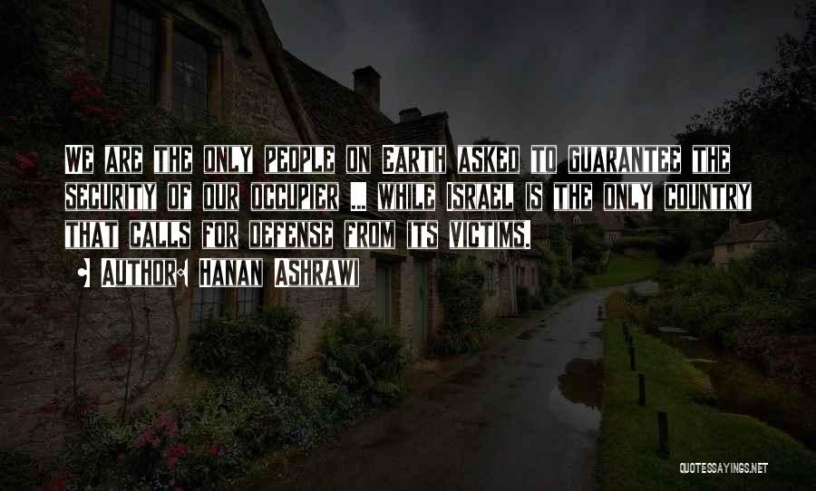 Hanan Ashrawi Quotes 281714