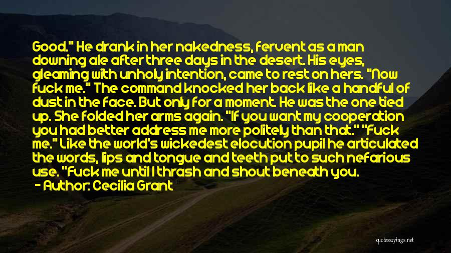 Handful Of Dust Quotes By Cecilia Grant