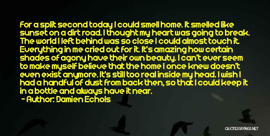 Handful Of Dust Quotes By Damien Echols