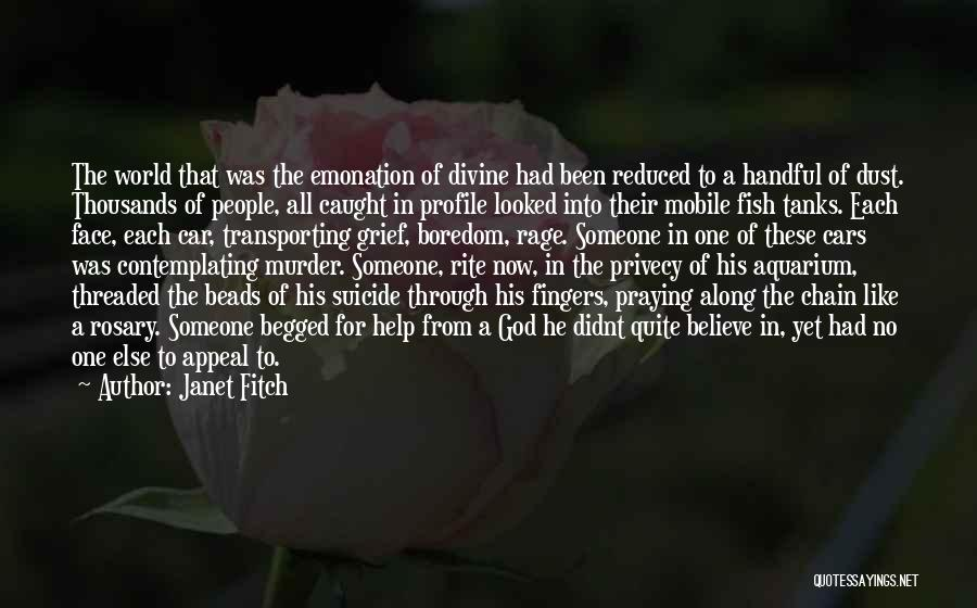 Handful Of Dust Quotes By Janet Fitch