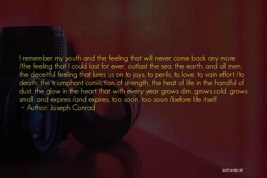 Handful Of Dust Quotes By Joseph Conrad